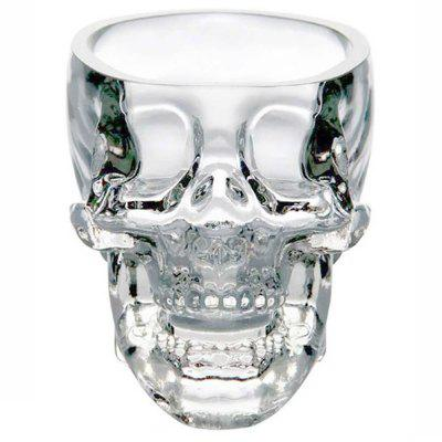 Crystal Skull Head Shot Coppa di vetro Vodka Whisky Gin Bar Home Party