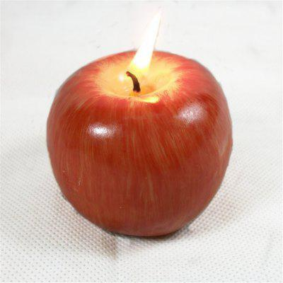 Creative Candles New Strange Christmas Eve PresentsChristmas Supplies<br>Creative Candles New Strange Christmas Eve Presents<br><br>For: All<br>Material: Iron, Paraffin<br>Package Contents: 1 x Apple Shape Candle<br>Package size (L x W x H): 7.00 x 7.00 x 5.50 cm / 2.76 x 2.76 x 2.17 inches<br>Package weight: 0.0900 kg<br>Product size (L x W x H): 6.30 x 6.30 x 5.00 cm / 2.48 x 2.48 x 1.97 inches