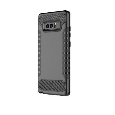 For Galaxy Note8 Mobile Phone Shell Tank Carbon Fiber Technology Protection Sleeve