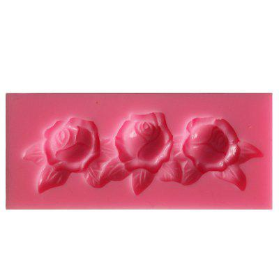 Rose Flower Silicone Mold Cookware Cake Decoration Fondant Biscuit Mold Soap Chocolate Mold