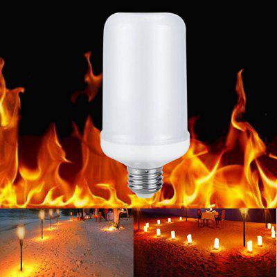Sencart E27 5W LED Burning Light Flicker Flame Lamp Bulb Fire Effect Decorative DE