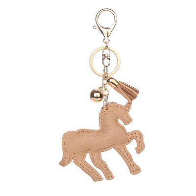 Unicorn Shape Keychain Fashion Bag PendantHome Gadgets<br>Unicorn Shape Keychain Fashion Bag Pendant<br><br>Material: Alloy<br>Package Contents: 1 x Keychain<br>Package size (L x W x H): 20.00 x 10.00 x 1.00 cm / 7.87 x 3.94 x 0.39 inches<br>Package weight: 0.0450 kg<br>Product size (L x W x H): 16.50 x 8.00 x 1.00 cm / 6.5 x 3.15 x 0.39 inches<br>Product weight: 0.0400 kg