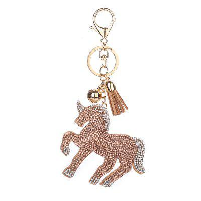 Unicorn Shape Keychain Fashion Bag Pendant