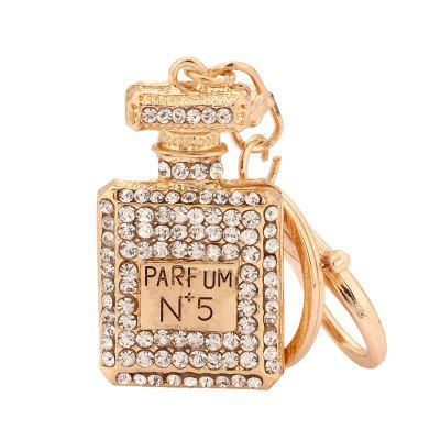 Perfume Bottle Shape Keychain Fashion Bag Pendant