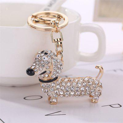 Dachshund Shape Keychain Fashion Bag PendantHome Gadgets<br>Dachshund Shape Keychain Fashion Bag Pendant<br><br>Material: Alloy<br>Package Contents: 1 x Keychain<br>Package size (L x W x H): 15.00 x 8.00 x 1.00 cm / 5.91 x 3.15 x 0.39 inches<br>Package weight: 0.0450 kg<br>Product size (L x W x H): 9.00 x 5.50 x 1.00 cm / 3.54 x 2.17 x 0.39 inches<br>Product weight: 0.0400 kg