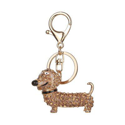 Dachshund Shape Keychain Fashion Bag Pendant