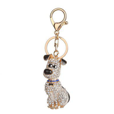 Cute Dog Shape Keychain Fashion Bag Pendant