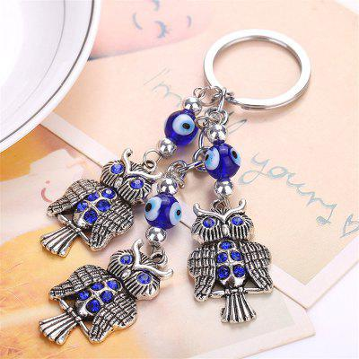 Owl Shape Keychain Fashion Bag PendantHome Gadgets<br>Owl Shape Keychain Fashion Bag Pendant<br><br>Material: Metal<br>Package Contents: 1 x Keychain<br>Package size (L x W x H): 15.00 x 8.00 x 1.00 cm / 5.91 x 3.15 x 0.39 inches<br>Package weight: 0.0350 kg<br>Product size (L x W x H): 13.00 x 3.00 x 1.00 cm / 5.12 x 1.18 x 0.39 inches<br>Product weight: 0.0300 kg