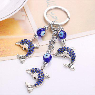 Dolphin Shape Keychain Fashion Bag PendantHome Gadgets<br>Dolphin Shape Keychain Fashion Bag Pendant<br><br>Material: Metal<br>Package Contents: 1 x Keychain<br>Package size (L x W x H): 15.00 x 8.00 x 1.00 cm / 5.91 x 3.15 x 0.39 inches<br>Package weight: 0.0350 kg<br>Product size (L x W x H): 13.20 x 3.00 x 1.00 cm / 5.2 x 1.18 x 0.39 inches<br>Product weight: 0.0300 kg