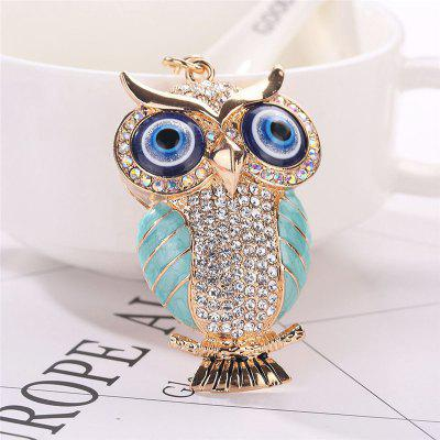 Cute Owl Shape Keychain Fashion Bag PendantHome Gadgets<br>Cute Owl Shape Keychain Fashion Bag Pendant<br><br>Material: Alloy<br>Package Contents: 1 x Keychain<br>Package size (L x W x H): 15.00 x 8.00 x 1.00 cm / 5.91 x 3.15 x 0.39 inches<br>Package weight: 0.0450 kg<br>Product size (L x W x H): 12.50 x 4.00 x 1.00 cm / 4.92 x 1.57 x 0.39 inches<br>Product weight: 0.0400 kg