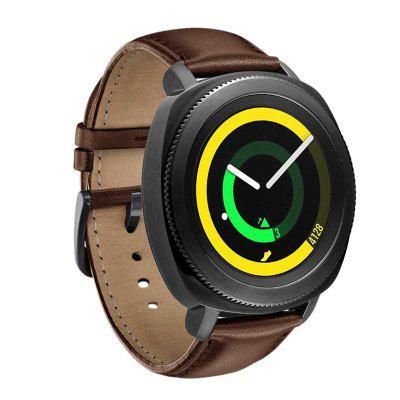 20MM Soft Leather Vervanging Bands band voor Samsung Gear Sport SM-R600 Gear S2 Classic