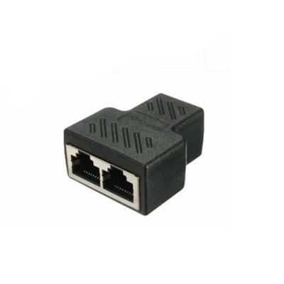 Yeshold RJ45 Splitter Connector Ethernet Cable Socket Adapter 8P8C Network