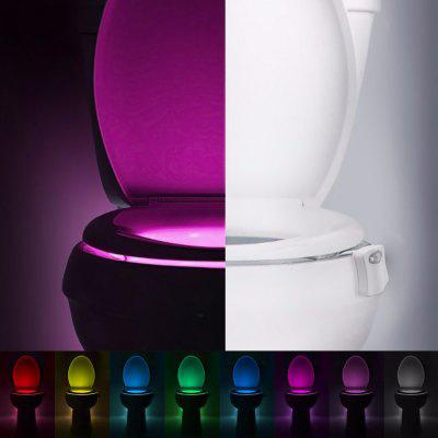Ider King-Colorful LED Toilet Night Light