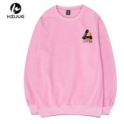 Daily Casual Print Round Collar SweatshirtMens Hoodies &amp; Sweatshirts<br>Daily Casual Print Round Collar Sweatshirt<br><br>Material: Cotton<br>Package Contents: 1xSweatshirt<br>Shirt Length: Regular<br>Sleeve Length: Full<br>Style: Casual<br>Weight: 0.5000kg