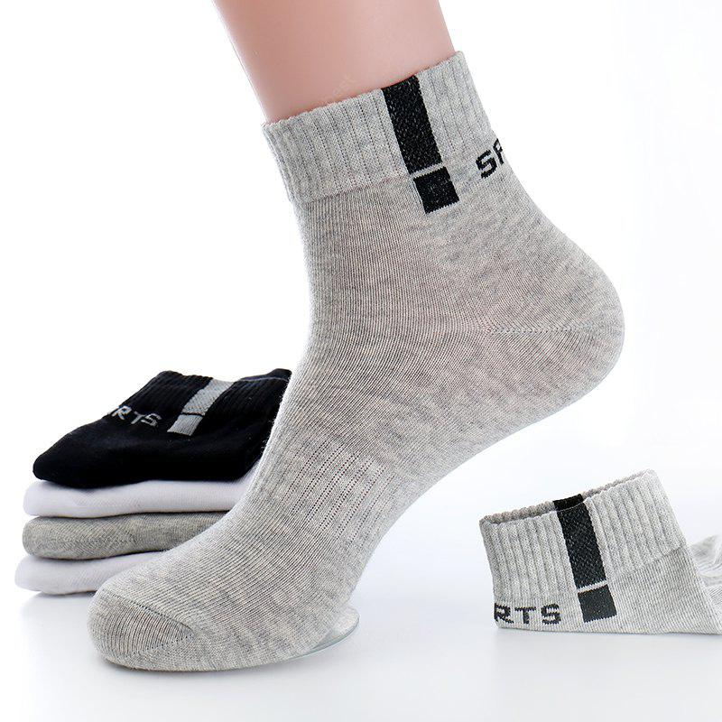 COLORMIX 10pcs/lot Mens Combed Cotton Socks Business Male Crew Mid-tube Dress Casual Socks Free Size Style High Quality