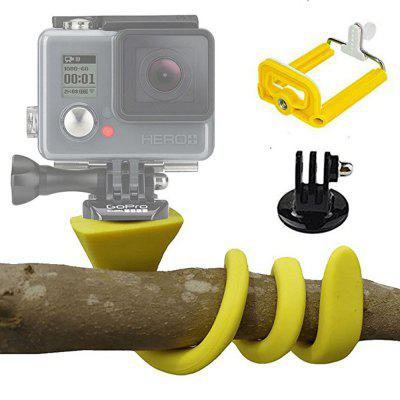 Banana Pod Flexible Tripod Mount Selfie Stick for iPhone Sj4000 Xiaomi GoPro