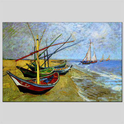 Hua Tuo Sailing Oil Painting 60 x 90CM OSR - 160776