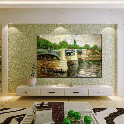 Hua Tuo Landscape Oil Painting Size 60 x 90CM OSR-160777Oil Paintings<br>Hua Tuo Landscape Oil Painting Size 60 x 90CM OSR-160777<br><br>Brand: Hua Tuo<br>Craft: Oil Painting<br>Form: One Panel<br>Material: Canvas<br>Package Contents: 1 x Oil Painting<br>Package size (L x W x H): 62.00 x 92.00 x 2.70 cm / 24.41 x 36.22 x 1.06 inches<br>Package weight: 1.0000 kg<br>Painting: Include Inner Frame<br>Product size (L x W x H): 60.00 x 90.00 x 2.50 cm / 23.62 x 35.43 x 0.98 inches<br>Product weight: 0.8000 kg<br>Shape: Horizontal Panoramic<br>Style: Landscape<br>Subjects: Landscape<br>Suitable Space: Living Room,Bedroom,Dining Room,Office,Hotel,Cafes,Kids Room,Study Room / Office,Boys Room,Girls Room,Game Room