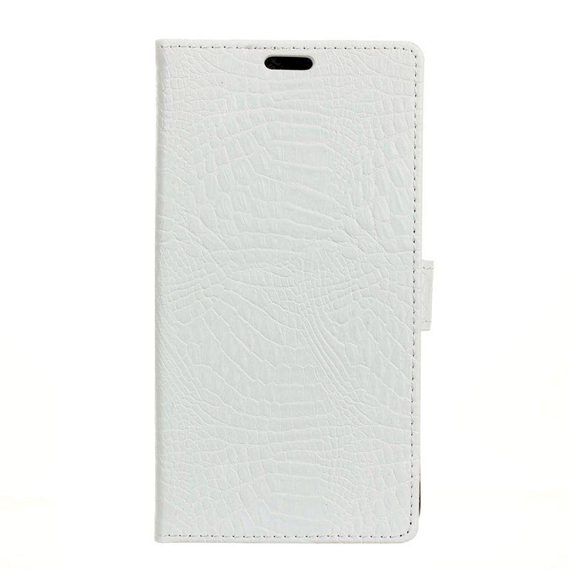 Estofada de couro Retro Business Case Crocodile para One Plus 5T