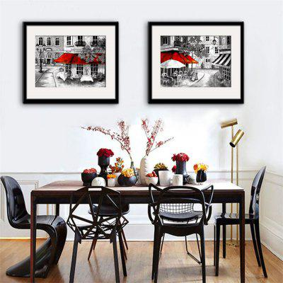 Special Design Frame Paintings Restaurant Print 2PCS 20 X 14 INCH ...
