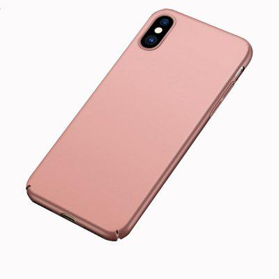 Magnetic Case for iphone X PC Hard Iron Sheet Magnetic Phone Case With Iron Sheet For Magnet Car Holder