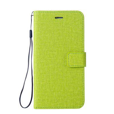 Wkae Solid Color Premium Jeans Cloth Texture Leather Pouch Case for Xiaomi 5X