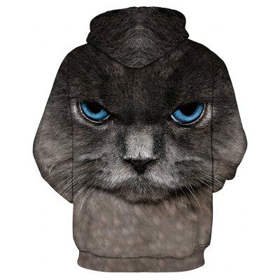 Mens Hoodie 3D Black Cat Pattern Plus Size Long Sleeve Casual Stylish OutdoorMens Hoodies &amp; Sweatshirts<br>Mens Hoodie 3D Black Cat Pattern Plus Size Long Sleeve Casual Stylish Outdoor<br><br>Fabric Type: Broadcloth<br>Material: Cotton<br>Package Contents: 1 x Hoodie<br>Shirt Length: Regular<br>Sleeve Length: Full<br>Style: Fashion<br>Weight: 0.3000kg
