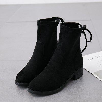 Fashion Comfortable Pure Color Short Tube Low Heel Round Head Chelsea BootsWomens Boots<br>Fashion Comfortable Pure Color Short Tube Low Heel Round Head Chelsea Boots<br><br>Boot Height: Ankle<br>Boot Type: Fashion Boots<br>Closure Type: Slip-On<br>Gender: For Women<br>Heel Type: Flat Heel<br>Package Contents: 1x Shoes(pair)<br>Pattern Type: Solid<br>Season: Winter<br>Toe Shape: Round Toe<br>Upper Material: Flock<br>Weight: 1.2800kg