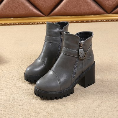 Cotton Warm Side Zipper Pure Colorl High Heeled Round Head Knights BootsWomens Boots<br>Cotton Warm Side Zipper Pure Colorl High Heeled Round Head Knights Boots<br><br>Boot Height: Ankle<br>Boot Type: Fashion Boots<br>Closure Type: Zip<br>Gender: For Women<br>Heel Type: Chunky Heel<br>Package Contents: 1x Shoes(pair)<br>Pattern Type: Solid<br>Season: Winter<br>Toe Shape: Round Toe<br>Upper Material: PU<br>Weight: 1.2800kg