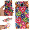 Color of Love Soft Clear IMD TPU Phone Casing Estojo de capa móvel Smart Shell para Samsung A5 2015 - COR