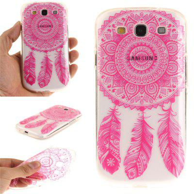 Rose Bell Soft Clear IMD TPU Phone Casing Mobile Smartphone Cover Shell Case for Samsung S3 I9300