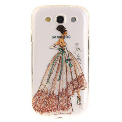 Hand-Painted Dress Soft Clear IMD TPU Phone Casing Mobile Smartphone Cover Shell Case for Samsung S3 I9300Cases &amp; Leather<br>Hand-Painted Dress Soft Clear IMD TPU Phone Casing Mobile Smartphone Cover Shell Case for Samsung S3 I9300<br><br>Compatible Model: Samsung S3 I9300<br>Features: Back Cover, Anti-knock<br>Material: TPU<br>Package Contents: 1 x Phone Case<br>Package size (L x W x H): 17.00 x 7.00 x 1.00 cm / 6.69 x 2.76 x 0.39 inches<br>Package weight: 0.0110 kg<br>Product Size(L x W x H): 16.00 x 6.00 x 1.00 cm / 6.3 x 2.36 x 0.39 inches<br>Product weight: 0.0100 kg<br>Style: Pattern
