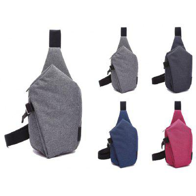 Men Waterproof Outdoor Crossbody Bag Chest BagCrossbody Bags<br>Men Waterproof Outdoor Crossbody Bag Chest Bag<br><br>Closure Type: Zipper<br>Gender: For Women,For Men<br>Handbag Type: Crossbody bag<br>Main Material: Canvas<br>Occasion: Versatile<br>Package Contents: 1 x Chest bag<br>Package size (L x W x H): 35.00 x 20.00 x 3.00 cm / 13.78 x 7.87 x 1.18 inches<br>Package weight: 0.4000 kg<br>Pattern Type: Solid<br>Style: Casual