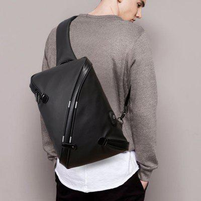 Men Outdoor Crossbody Bag Chest Bag Cycling BagCrossbody Bags<br>Men Outdoor Crossbody Bag Chest Bag Cycling Bag<br><br>Closure Type: Zipper<br>Gender: For Men<br>Handbag Type: Crossbody bag<br>Main Material: PU<br>Occasion: Versatile<br>Package Contents: 1 x Chest bag<br>Package size (L x W x H): 35.00 x 20.00 x 4.00 cm / 13.78 x 7.87 x 1.57 inches<br>Package weight: 0.4000 kg<br>Pattern Type: Solid<br>Style: Casual