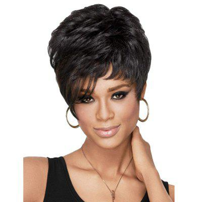 Women Fashion Curly Hair Wigs Synthetic Short Wig