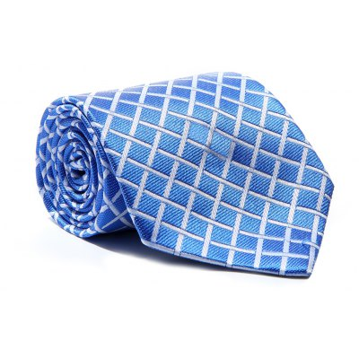 New Fashion Men's Accessory Business Necktie Lattice Elegant Classic Tie