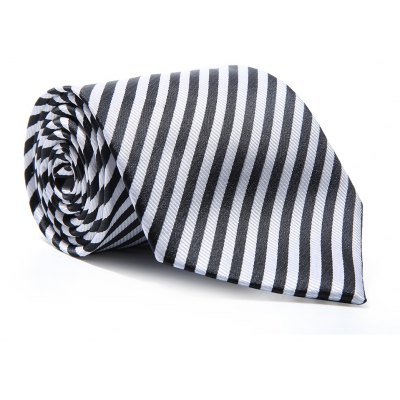 Fashion Accessory Men's Business Necktie Diagonal Stripe Casual striped Classic All Match Smooth Tie
