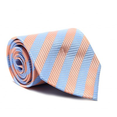 Fashion Accessory Men's Business Necktie Diagonal Stripe Casual Crude Striped Classic All Match Smooth Tie