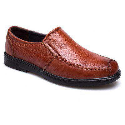 Leather Breathable and Casual Men'S Shoes