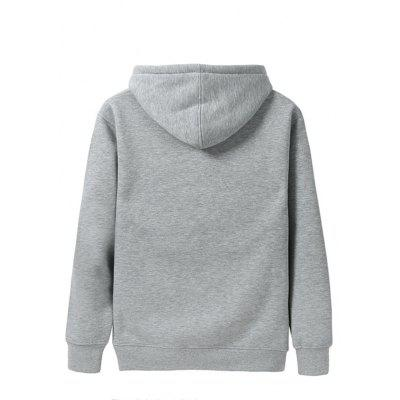 2017 Mens Trend  Warm HoodieMens Hoodies &amp; Sweatshirts<br>2017 Mens Trend  Warm Hoodie<br><br>Material: Cotton<br>Package Contents: 1 X Hoodie<br>Shirt Length: Regular<br>Sleeve Length: Full<br>Style: Casual<br>Weight: 0.2000kg