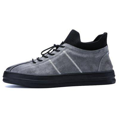 Men Casual Trend for Fashion Lace Up Leather Outdoor ShoesCasual Shoes<br>Men Casual Trend for Fashion Lace Up Leather Outdoor Shoes<br><br>Available Size: 39-44<br>Closure Type: Lace-Up<br>Embellishment: None<br>Gender: For Men<br>Outsole Material: Rubber<br>Package Contents: 1x Shoes(pair)<br>Pattern Type: Solid<br>Season: Spring/Fall, Winter<br>Toe Shape: Round Toe<br>Toe Style: Closed Toe<br>Upper Material: Leather<br>Weight: 1.2000kg