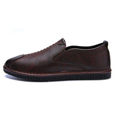 Men Casual Trend for Fashion Lace Up Leather Outdoor Flat ShoesCasual Shoes<br>Men Casual Trend for Fashion Lace Up Leather Outdoor Flat Shoes<br><br>Available Size: 39-44<br>Closure Type: Slip-On<br>Embellishment: None<br>Gender: For Men<br>Outsole Material: Rubber<br>Package Contents: 1x Shoes(pair)<br>Pattern Type: Solid<br>Season: Spring/Fall, Winter<br>Toe Shape: Round Toe<br>Toe Style: Closed Toe<br>Upper Material: Leather<br>Weight: 1.2000kg