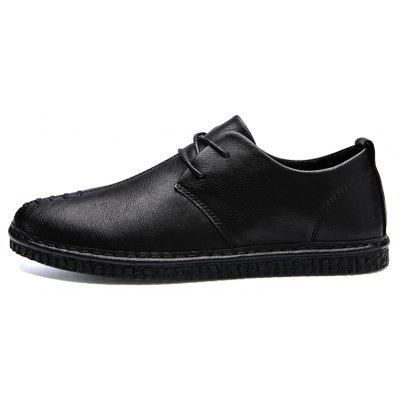 Men Casual Trend for Fashion Lace Up Leather Flat Outdoor ShoesMen's Oxford<br>Men Casual Trend for Fashion Lace Up Leather Flat Outdoor Shoes<br><br>Available Size: 39-44<br>Closure Type: Lace-Up<br>Embellishment: None<br>Gender: For Men<br>Outsole Material: Rubber<br>Package Contents: 1x Shoes(pair)<br>Pattern Type: Solid<br>Season: Spring/Fall, Winter<br>Toe Shape: Round Toe<br>Toe Style: Closed Toe<br>Upper Material: Leather<br>Weight: 1.2000kg