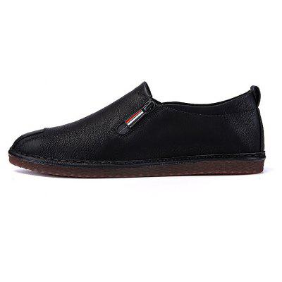 Men Casual Trend for Fashion Zip on Leather Flat Outdoor ShoesCasual Shoes<br>Men Casual Trend for Fashion Zip on Leather Flat Outdoor Shoes<br><br>Available Size: 39-44<br>Closure Type: Zip<br>Embellishment: None<br>Gender: For Men<br>Outsole Material: Rubber<br>Package Contents: 1x Shoes(pair)<br>Pattern Type: Solid<br>Season: Spring/Fall, Winter<br>Toe Shape: Round Toe<br>Toe Style: Closed Toe<br>Upper Material: Leather<br>Weight: 1.2000kg