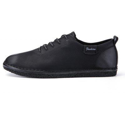 Men Casual Trend for Fashion Leather Lace Up Flat Outdoor ShoesCasual Shoes<br>Men Casual Trend for Fashion Leather Lace Up Flat Outdoor Shoes<br><br>Available Size: 39-44<br>Closure Type: Lace-Up<br>Embellishment: None<br>Gender: For Men<br>Outsole Material: Rubber<br>Package Contents: 1x Shoes(pair)<br>Pattern Type: Solid<br>Season: Spring/Fall, Winter<br>Toe Shape: Round Toe<br>Toe Style: Closed Toe<br>Upper Material: Leather<br>Weight: 1.2000kg