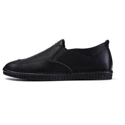 Men Casual Trend for Fashion Leather Slip on Flat Outdoor ShoesCasual Shoes<br>Men Casual Trend for Fashion Leather Slip on Flat Outdoor Shoes<br><br>Available Size: 39-44<br>Closure Type: Slip-On<br>Embellishment: None<br>Gender: For Men<br>Outsole Material: Rubber<br>Package Contents: 1x Shoes(pair)<br>Pattern Type: Solid<br>Season: Spring/Fall, Winter<br>Toe Shape: Round Toe<br>Toe Style: Closed Toe<br>Upper Material: Leather<br>Weight: 1.2000kg