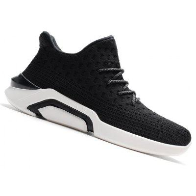 Men New Style Running Sport Lightly Breathable Lace Up Outdoor Jogging Sneakers Athletic Shoes