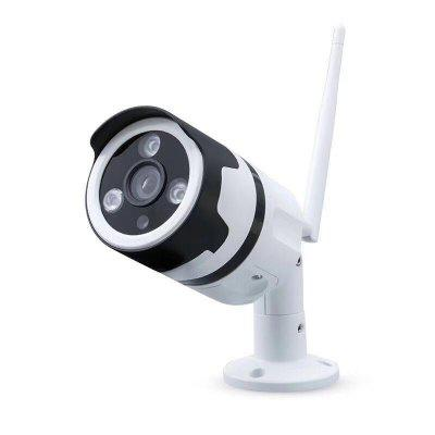 Full-Color Waterproof Outdoor WIFI Network Bolt Night Camera