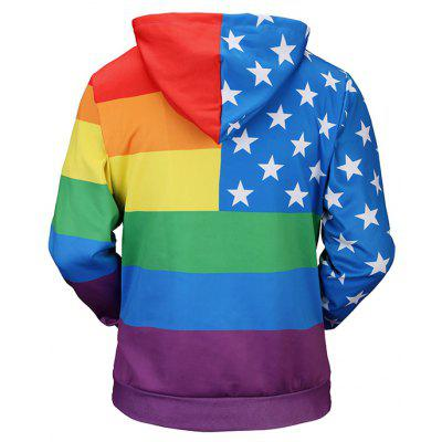 Colorful Striped Star Printed Long Sleeve HoodieMens Hoodies &amp; Sweatshirts<br>Colorful Striped Star Printed Long Sleeve Hoodie<br><br>Material: Polyester<br>Package Contents: 1 x Hoodie<br>Shirt Length: Regular<br>Sleeve Length: Full<br>Style: Casual<br>Weight: 0.5000kg