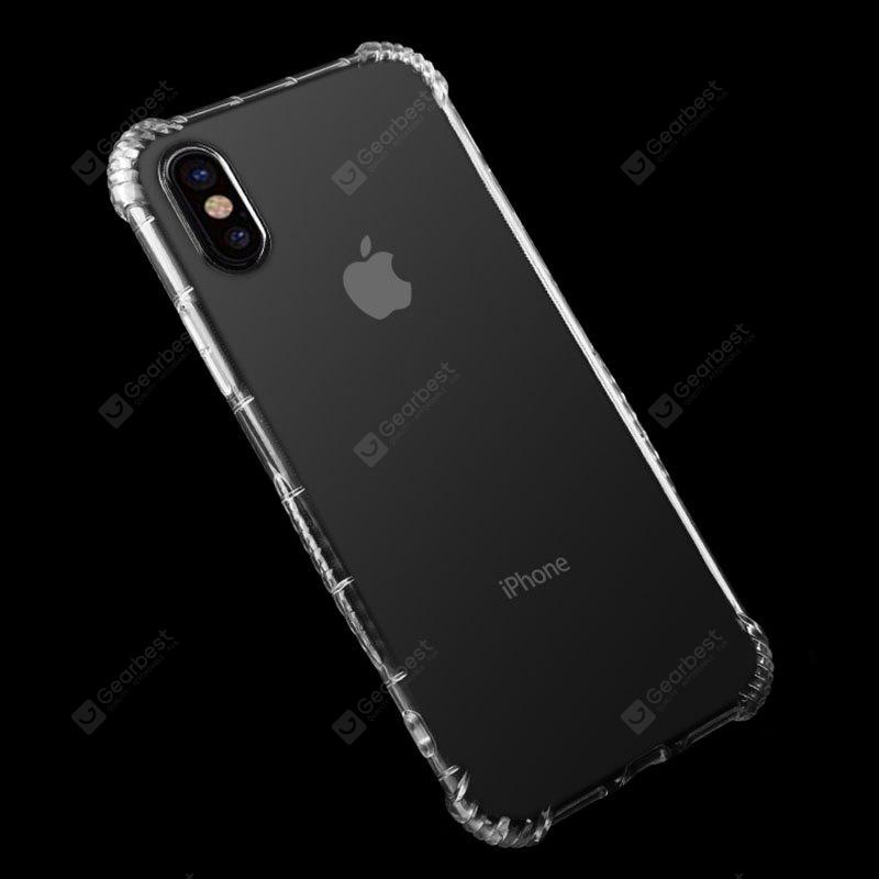 Housse de protection TPU transparente pour iPhone X